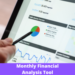 Monthly Financial Analysis Tool Product pic