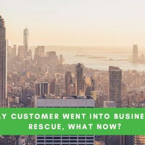 My Client went into Business Rescue